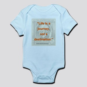 Life Is a Journey - Ralph Waldo Emerson Body Suit