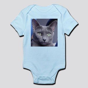 russian blue Body Suit