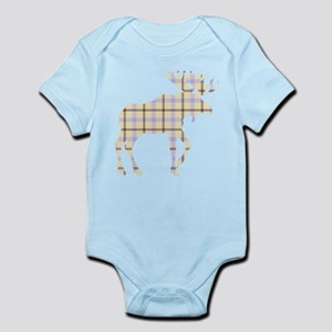 Sweet Plaid Moose by LH Body Suit