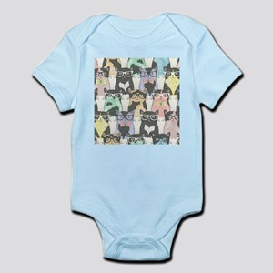 Hipster Cats Infant Bodysuit