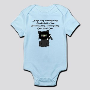 Ninja Kitty Infant Bodysuit