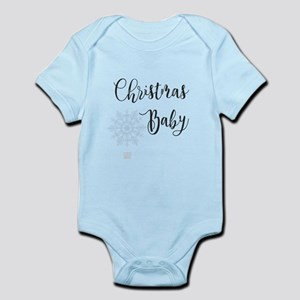 Christmas Baby (gray) Body Suit