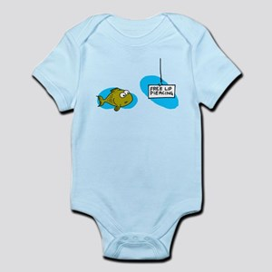 Lip Piercing Infant Bodysuit