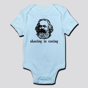 Marx: Sharing is Caring Infant Bodysuit