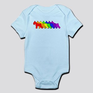 Rainbow Schnauzer Infant Bodysuit