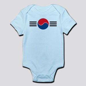 Republic of Korea AF roundel Infant Bodysuit