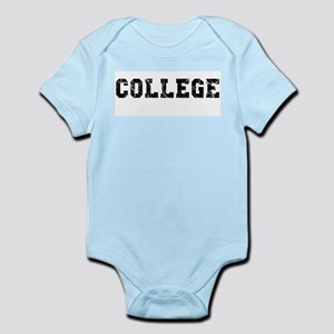COLLEGE Baby / Infant Bodysuit