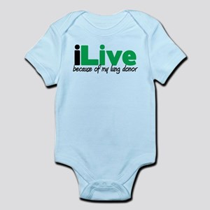 iLive Lung Infant Bodysuit