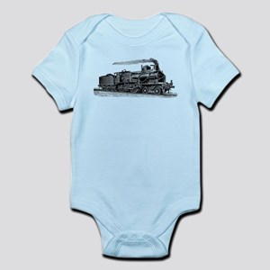 VINTAGE TRAINS Infant Bodysuit