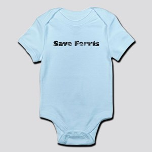 Save Ferris (Grungy) Infant Bodysuit