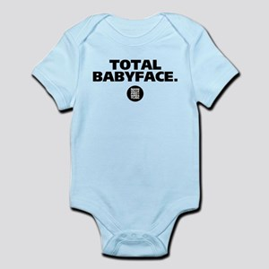 Total babyface. Infant Bodysuit