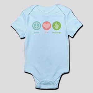 Peace, Love & Massage Infant Bodysuit