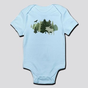 Moose in the Forest Body Suit