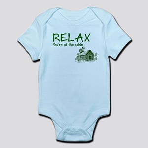 Relax Cabin Cottage Infant Bodysuit