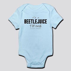 It's a Beetlejuice Thing Infant Bodysuit