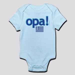 greek flag opa1 Body Suit