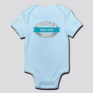 Worlds Best Personalized Baby Light Bodysuit