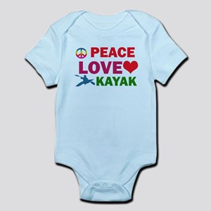 Peace Love Kayak Designs Infant Bodysuit