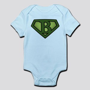 Super Green B Infant Bodysuit