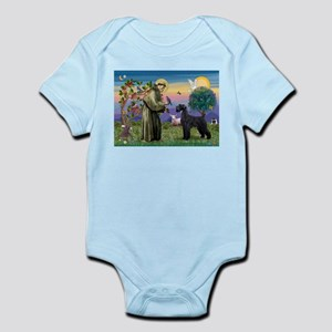 St. Francis & Giant Schnauzer Infant Bodysuit