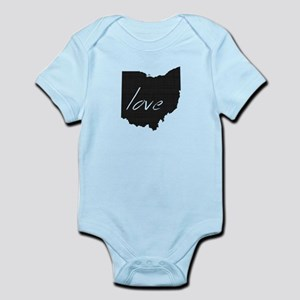 Love Ohio Infant Bodysuit