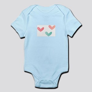 Multicolored Hearts Body Suit