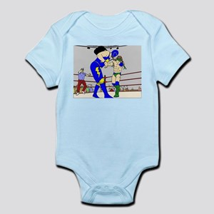 Wrestling Chair Hit Infant Bodysuit