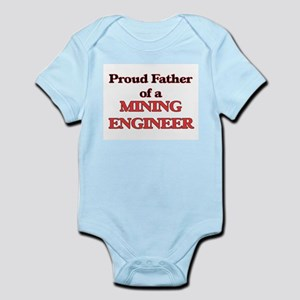 Proud Father of a Mining Engineer Body Suit