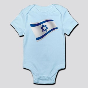 Israel Flag Body Suit