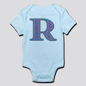 R Blue Glass Infant Bodysuit