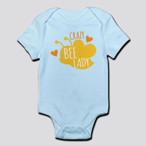 Crazy Bee Lady Body Suit