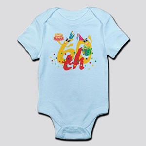 60th Birthday Infant Bodysuit