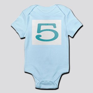 Water Numbers Body Suit