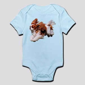 Cavalier Running- Blenheim Body Suit