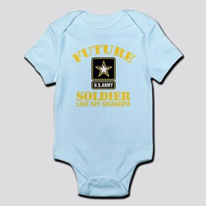 Future Army Soldier Like My Grandpa Baby Bodysuit