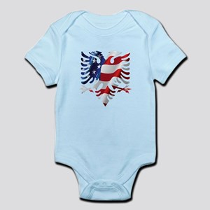 Albanian American Eagle Body Suit