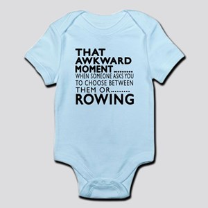 Rowing Awkward Moment Designs Infant Bodysuit