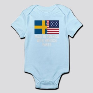 Made In America With Swedish Parts Body Suit