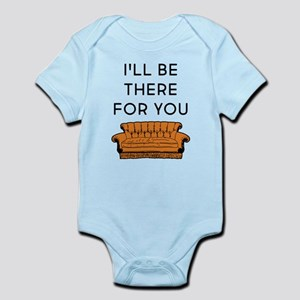 I'll Be There For You Baby Light Bodysuit
