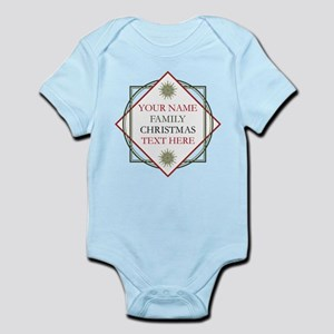 Family Christmas Personalized Baby Light Bodysuit