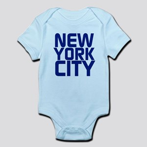 NEW YORK CITY Baby Light Bodysuit