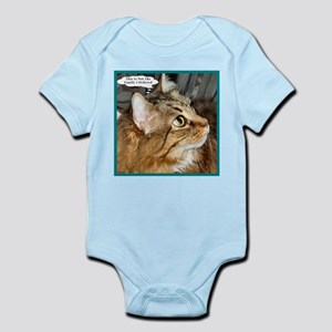 Maine Coon Cat Infant Bodysuit