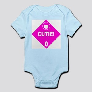 Cutie! Girl's Infant Bodysuit