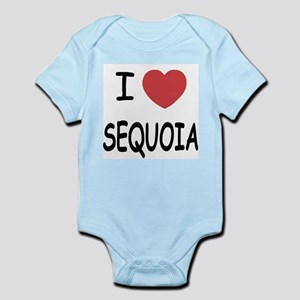 I heart sequoia Infant Bodysuit