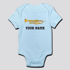 Personalized Trumpet Infant Bodysuit