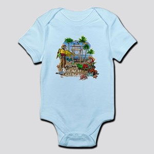 Parrots Beach Party Infant Bodysuit
