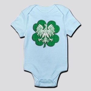 Irish Polish Heritage Infant Bodysuit