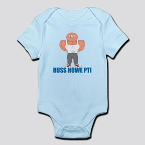 Russ Howe PTI Cartoon Infant Bodysuit