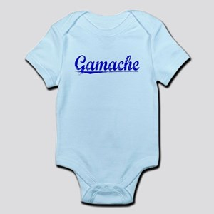 Gamache, Blue, Aged Infant Bodysuit