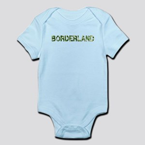 Borderland, Vintage Camo, Infant Bodysuit
